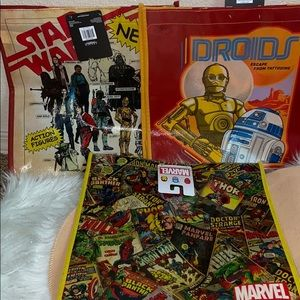 Gift Bags/ Shopping NWT Star Wars Marvel Disney